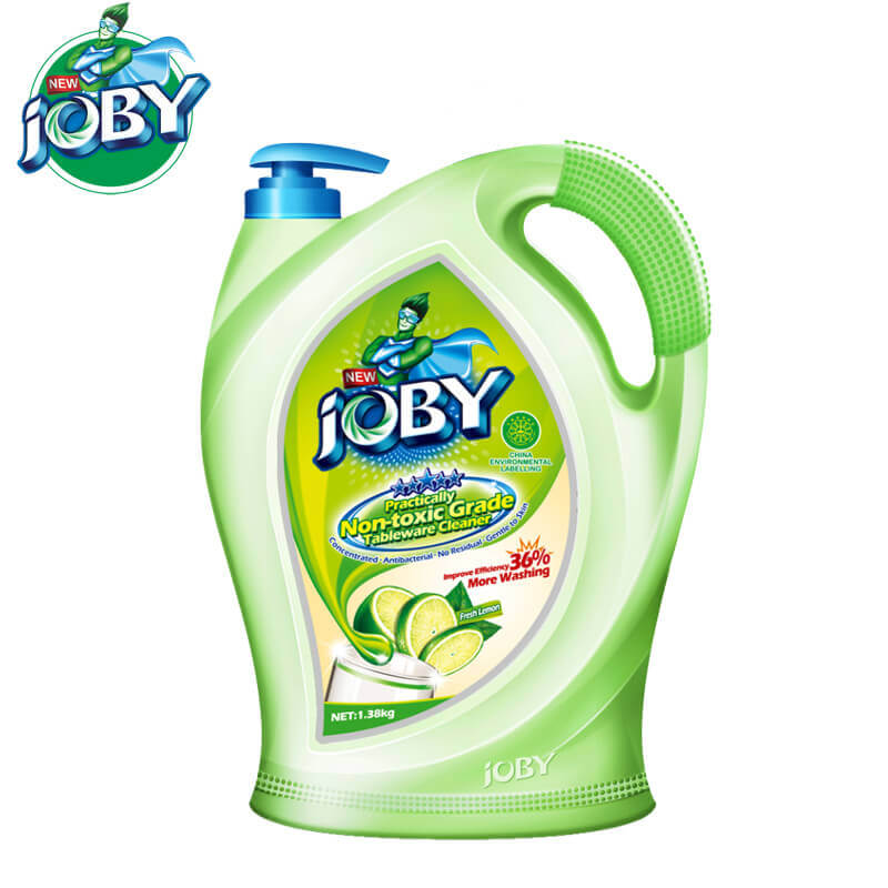 Non-Toxic Grade Tableware Cleaner Fresh Lemon JOBY