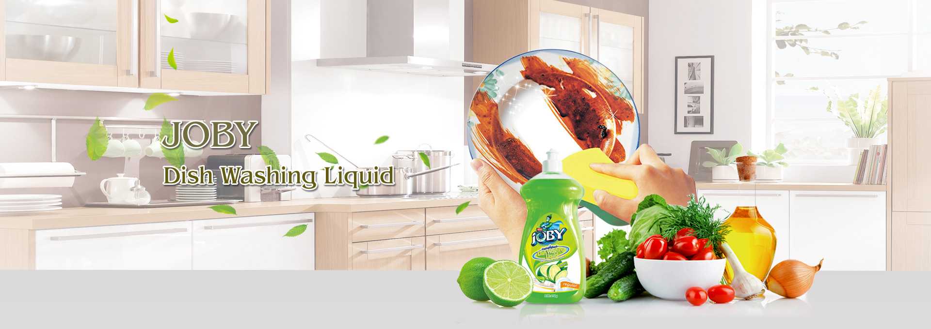 dish washing liquid lemon regular 750g JOBY