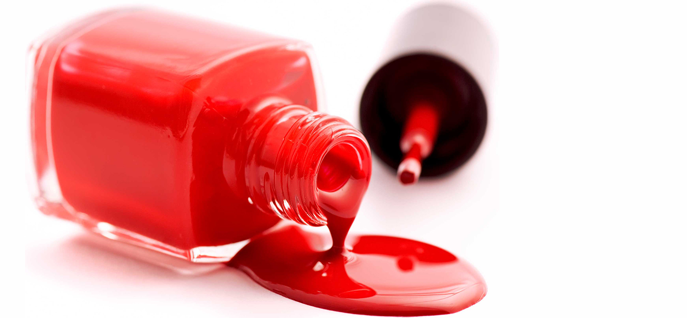 How to Remove Nail Polish Stains