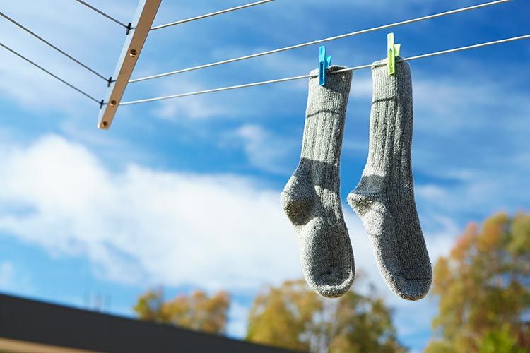How to Properly Wash Your Socks