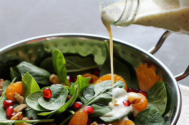 How to Remove Salad Dressing Stains?
