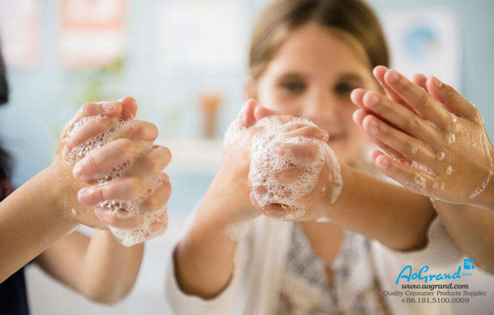 Wash Your Hands With Soap and Away From the Virus