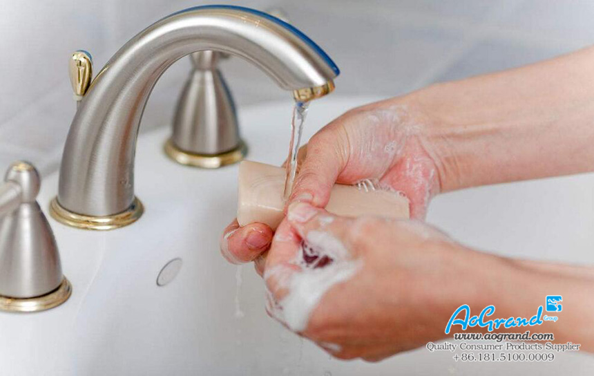 Washing Your Hands With Soap Is A Good Habit